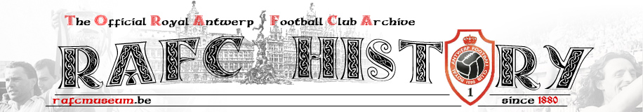 Royal Antwerp FC Archive Website